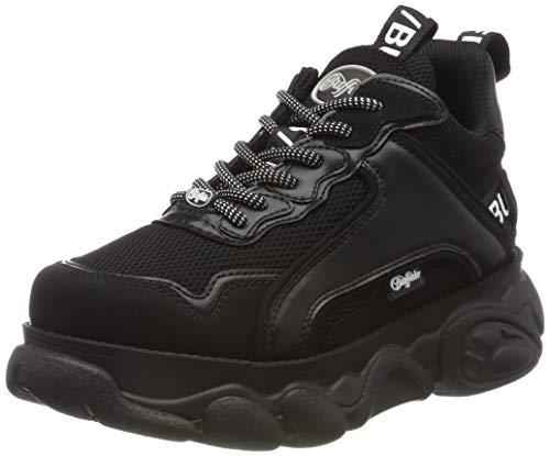 Buffalo Damen Corin Hohe Sneaker, Schwarz (Black 000), 39 EU