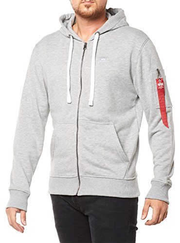 alpha-industries-x-fit-zip-sweatjacke-l-grau