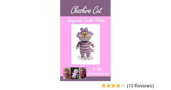 Cheshire Cat from Alice in Wonderland pattern by Wendy Korz ...   315x600