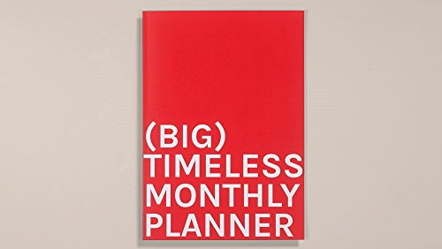 Timeless Monthly Planner (Big). 210x297mm (A4)