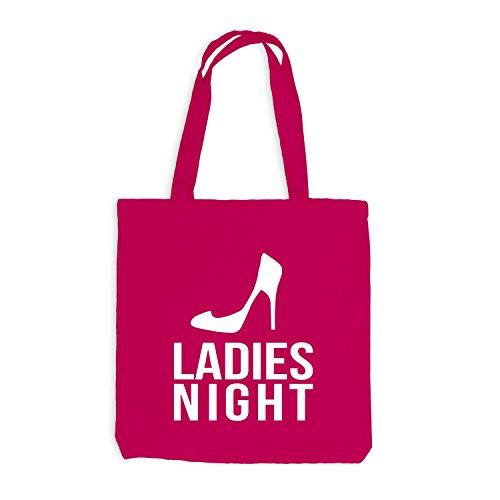 Junggesellenabschied Jutebeutel Night Ladies JGA Pink pxBE7Yqw
