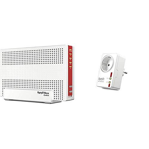 able WLAN AC + N Router & FRITZ!DECT Repeater 100 (Erhöht DECT-Reichweite) deutschsprachige Version ()
