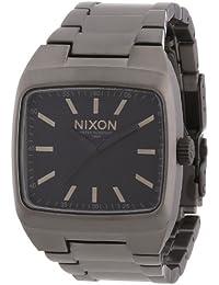 Nixon Herren-Armbanduhr Manual Analog Quarz Edelstahl beschichtet A2441062-00
