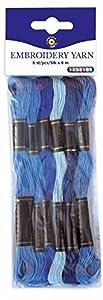 Playbox - Bordado del Hilado (Azules) - 8 mtrs - 6 Piezas - (PBX2470995)