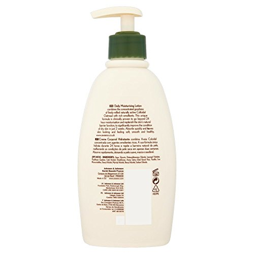 Aveeno Daily Moisturising Lotion 300 Ml And Bath Shower Oil 250