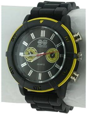 CROSSHATCH Herren-Armbanduhr Analog Silikon Schwarz CRS34/B