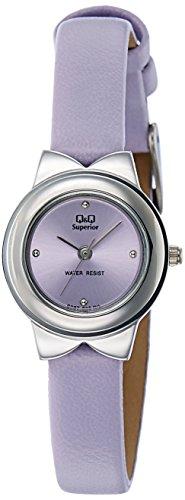 Q&Q Analog Light Purple Dial Women's Watch - S067-302Y image