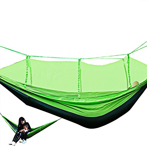 Junjiagao-Prodotti all\'aperto Outdoor-Produkte Neue Multifunktions-Moskitonetz-Hängematte Outdoor Double Parachute Hammock Swing, erschwinglich