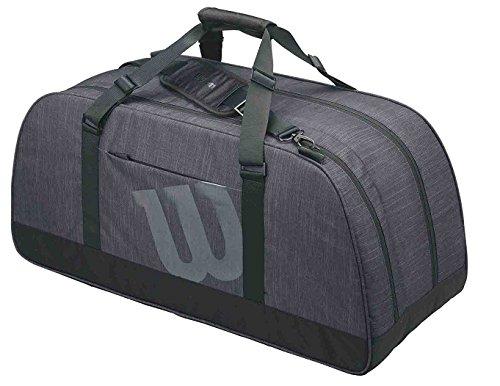 Wilson Unisex-Erwachsene Agency Duffel Large Bk Rucksack, Schwarz (Black), 36x24x45 Centimeters