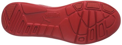 Puma Duplex Evo Graphic, Baskets Basses Mixte Adulte Rouge - Rot (Red blast-high risk red 03)