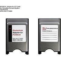 Spartechnik - Adattatore PCMCIA per sistema di controllo Mercedes COMAND APS*, ideale per riprodurre il contenuto di una scheda di memoria CompactFlash attraverso il sistema multimediale Adattatore PCMCIA per COMAND APS, Codice 527 512
