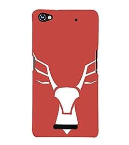 EPICCASE wild deer Mobile Back Case Cover For Micromax Canvas Hue 2 A316 (Designer Case)