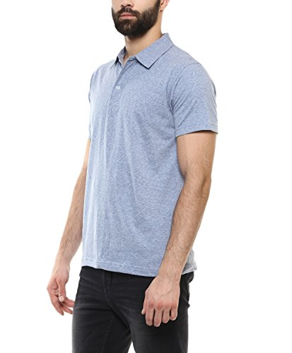 American-Crew-Mens-Polo-Solid-T-Shirt-Sky-Blue