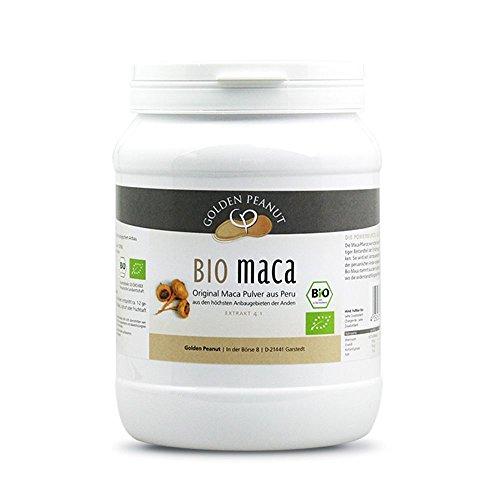 Bio Maca Pulver, Premium-Qualität aus Peru, Bio-zertifiziert 1000g