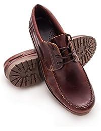 Zerimar Leder Bootsschuhe für Herren Segelschuhe Herren Leder Schuhe  Sportliche und Elegante Leder Schuhe… b981ab21f2