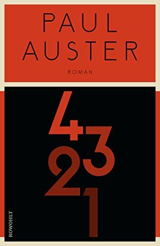 Buchseite und Rezensionen zu '4 3 2 1' von Paul Auster