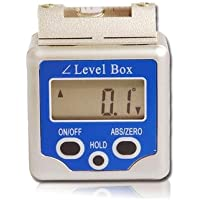 TC Digital Bevel Box Level Angle Finder Gauge Sensor 360 Degrees Protractor Spirit Level Inclinometer TLB-04