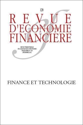 Innovation, technologie et finance - N° 120 - Décembre 2015: Menaces et opportunités.