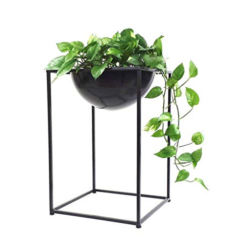 IU Desert Rose Étagère de balcon Rack de fleurs européen Rack de fleurs/Rack de fleurs Rack de plantes créatives intérieur simple Salon en métal/Cadre en pot (taille: 58cm) (Taille : 58cm)
