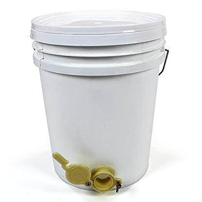 Easibee Honey Settling Tank 20 Litre Double Stainless Steel Strainer Valve Beekeepers 2