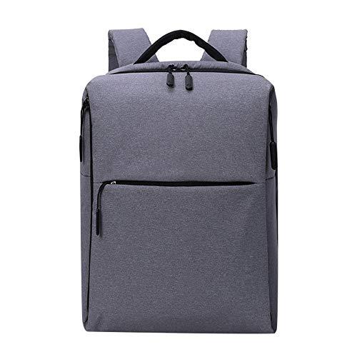 ZNMY Business-Multifunktions-Rucksack Anti-Theft Rucksäcke Student Doppel-Umhängetasche Fashion Computer Rucksack-grey -