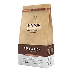 Union Hand-Roasted Revelation Espresso Coffee Beans 4 x 200g