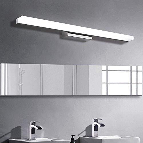 C-LT Badspiegel Lampen Moderne Zeitgenössische Wandleuchte Led Spiegel Licht Wasserdicht Badezimmerspiegel Lampen Lichter Goldene Badezimmerlampen Lichter, Kaltes Weiß, Länge 60cm 9W LED -