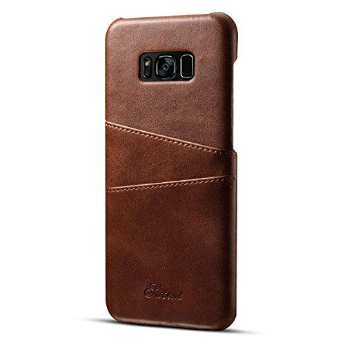 casefirst Samsung Galaxy S Lite Luxury Edition Samsung Galaxy S8 Wallet Multi Card Holder Pouch Girls Folio PU Leather Cover With Girls Case For Samsung Galaxy S Lite Luxury Edition Samsung Galaxy S8 - Brown Luxury Wallet Case