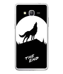 PrintVisa Designer Back Case Cover for Samsung Galaxy On7 G600Fy :: Samsung Galaxy Wide G600S :: Samsung Galaxy On 7 (2015) (Moon Scary)