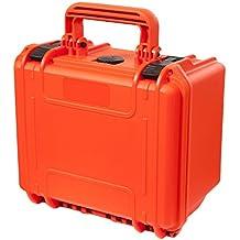 MAX MAX235H105.001 - Maletín impermeable y hermético, naranja