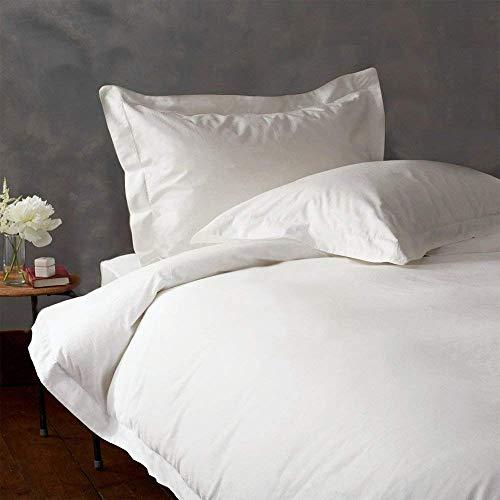 Casa Decor Kollektionen Exclusive Ägyptische Baumwolle Bettlaken-Set Passend für Matratzen bis 48,3cm Tief 1000TC Casa Décor Kollektionen Queen Weiß (1000 Tc Blatt)