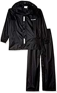 Amazon Brand - Solimo Water Resistant Polyester Rain Coat with Pant
