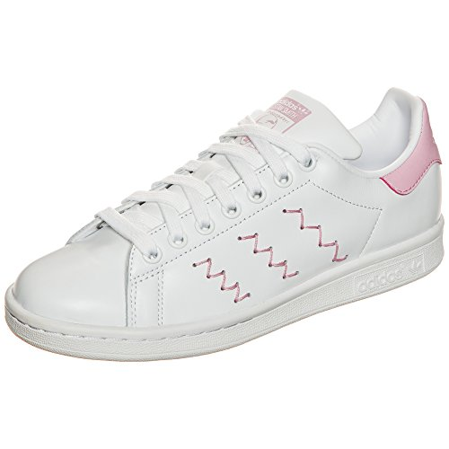 Adidas Ladies Stan Smith Sneaker Bianco (ftwbla / Ftwbla / Rosmar)