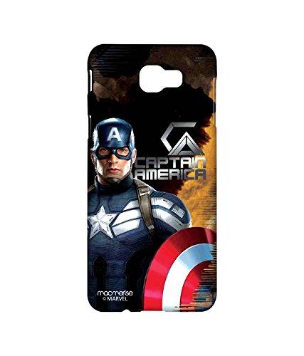 Macmerise Licensed Marvel Comics Captain America Premium Printed Back cover Case for Samsung J5 Prime