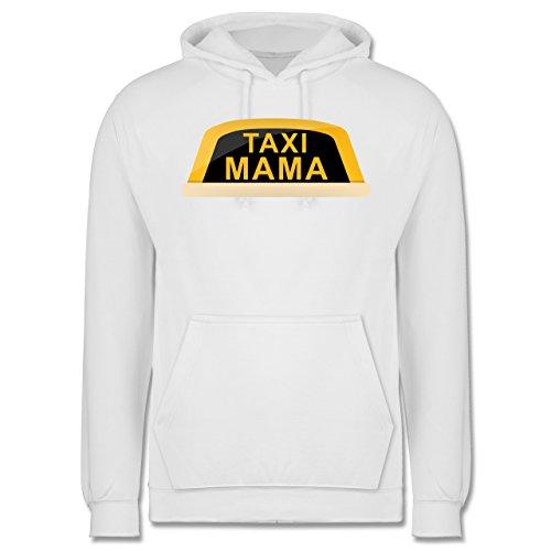 Weihnachten & Silvester - Taxi Mama - Männer Premium Kapuzenpullover / Hoodie Weiß