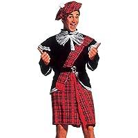 WIDMANN Widman - Disfraz de escoces para hombre 9d72b6d6cbe