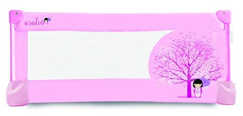 Asalvo 12678 - Barrera de cama, diseño flor de cerezo, 43,5x90x48 cm,...