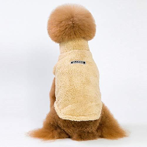 zyxbj felpa con cappuccio per cane sport dog hoodie inverno caldo cucciolo giacca antivento chihuahua felpa morbido cagnolino abbigliamentoxxl