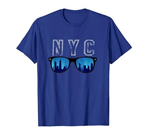 Ich liebe NYC-Hemd-Sonnenbrillen mit lustigem New York City T-Shirt