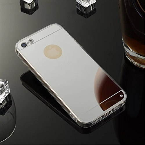 Coque Iphone 4S/4G,Miroir Coloris Silicone TPU Etui Housse Bumper pour Apple Iphone 4S/4G - Or X02
