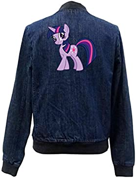 Twilight Pony Bomber Chaqueta Girls Jeans Certified Freak