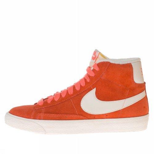NIKE Hightop Sneaker Blazer Mid Suede Vintage pfirsich/weiß EU 40.5