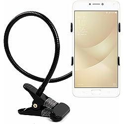 Supporto a Collo di Cigno Per Cellulari Asus Zenfone 4 ZE554KL | Zenfone 4 Max Plus ZC554KL | Zenfone 4 Max ZC520KL | Zenfone 4 Selfie ZD553KL | Zenfone 4 Selfie Pro ZD552KL - Per Scrivania o Letto - DURAGADGET