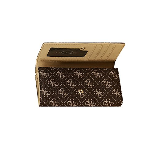 GUESS LENA WALLET FLAP ORGANIZER SG455945 Coffee