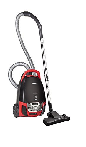 Fakir Red Vac TS 120 /  Bodenstaubsauger mit Beutel, Beutel-Staubsauger leise, Hygiene-Filter, leistungsstarker Motor,  niedriger Stromverbrauch - 700 Watt