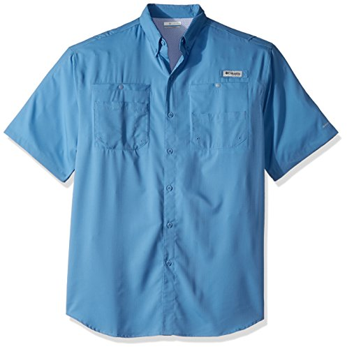 Columbia Mens Tamiami II Short-Sleeve Shirt Skyler