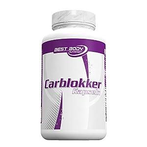 Best Body Nutrition Carblokker mit Bockshornkleesamen und Bohnenmehl, 100 Kapseln (82,7g)