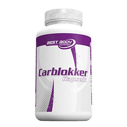 Best Body Nutrition Carblokker mit Bockshornkleesamen und Bohnenmehl, 100 Kapseln (82,7g) -