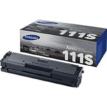 Samsung MLT-D111S tóner y cartucho láser - Tóner para impresoras láser (1000 páginas, Laser, M2020 / 2020W, M2022 / 2022W, M2070 / 2070W, 32,6 cm, 15,8 cm, 10,8 cm), color negro