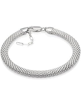 LillyMarie Damen-Armband Silber 925, 20-24 cm, mit Schmuckbox